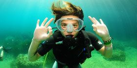 Cours de plongee ibiza